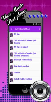 Slide Calvin Harris apk screenshot