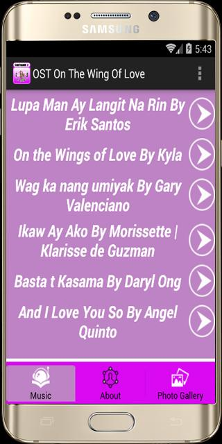 OST Lagu On The Wings Of Love for Android - APK Download
