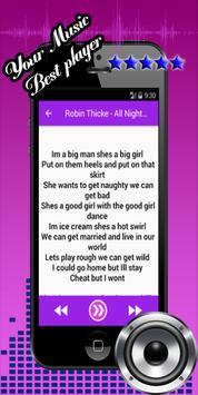 Robin Thicke Blurred Lines screenshot 2