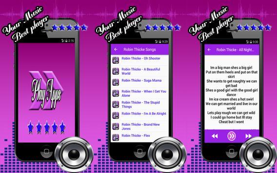 Robin Thicke Blurred Lines screenshot 3