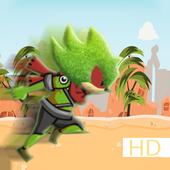 Amazing fast Ninja Jungle Soni icon