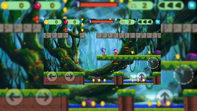 Sonic Super Jungle Adventure Run screenshot 3