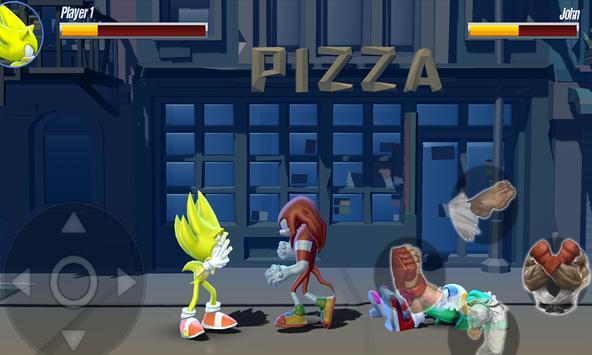 Sonic Ultra Warrior Beatem-up Heroes Alians League screenshot 1