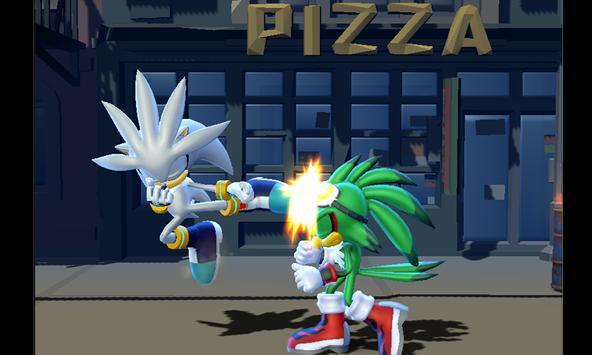 Sonic Ultra Warrior Beatem-up Heroes Alians League screenshot 2