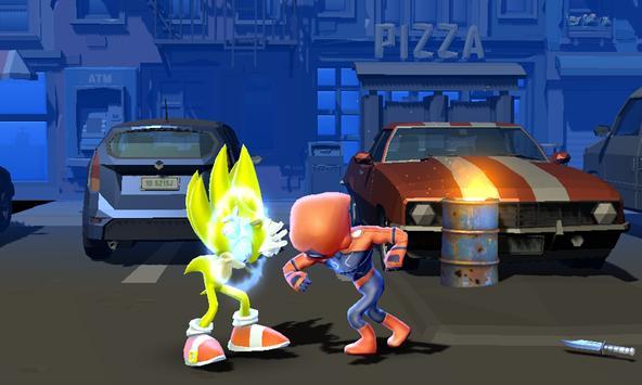 Sonic Ultra Warrior Beatem-up Heroes Alians League screenshot 3