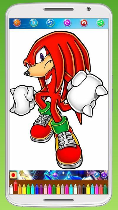 Sonic Coloring Book For Android Apk Download