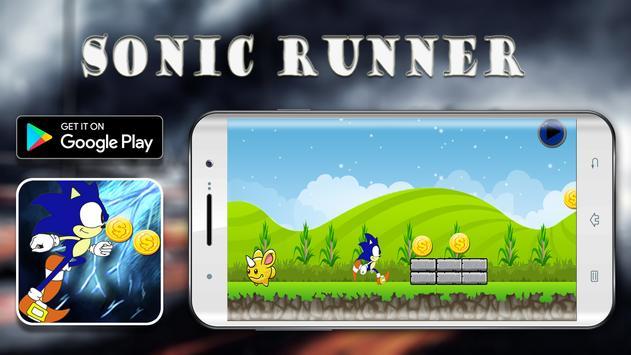 Dimensional dash - a sonic run screenshot 1