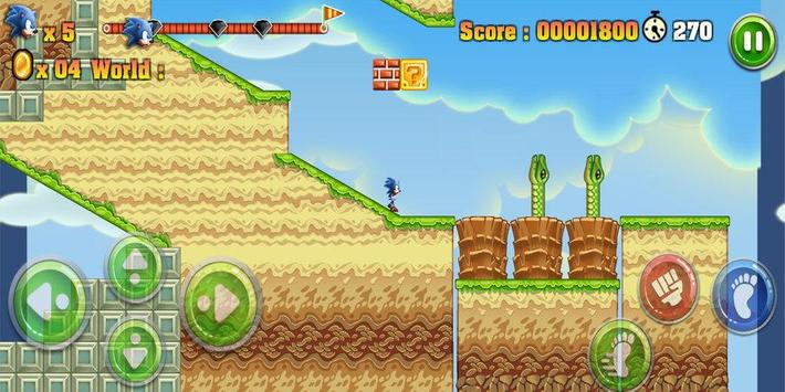 Epic Sonic Adventure apk screenshot