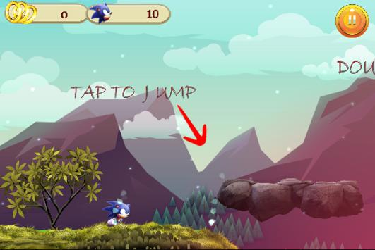 Sonic Run The World apk screenshot
