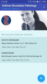 Sullivan Nicolaides Collection Centre Locator poster