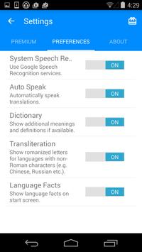 iTranslate Voice apk screenshot
