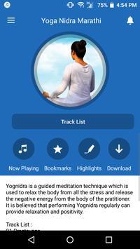 Yoga Nidra Marathi Poster