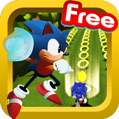 Angry sonic adventure Run icon