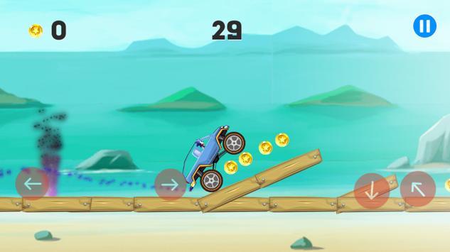 Hill Climb Sonic Racing apk screenshot
