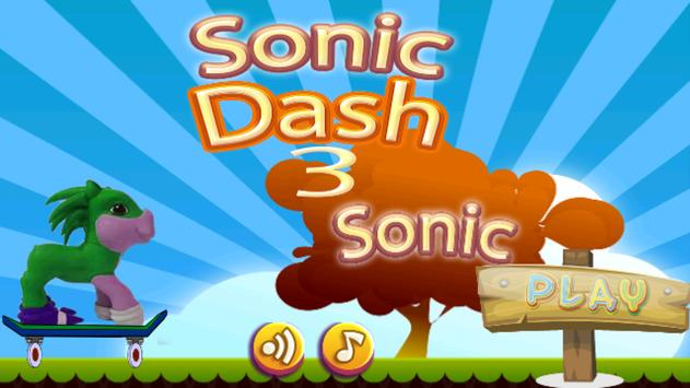Run Sonic Adventure Dash poster