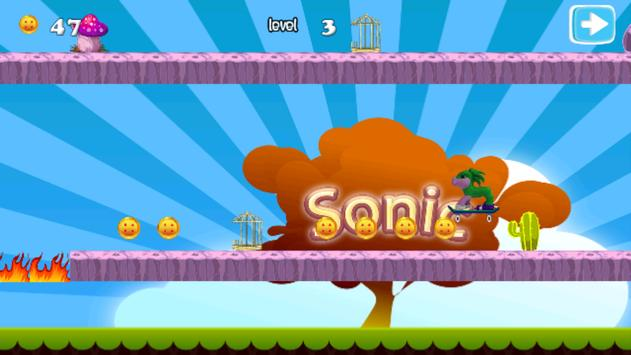 Run Sonic Adventure Dash apk screenshot