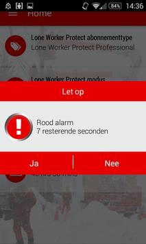 Vodafone Lone Worker Protect apk screenshot