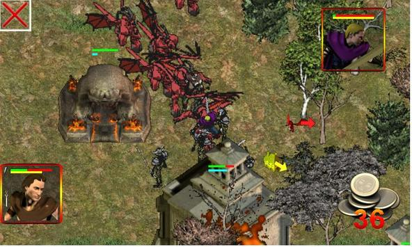 Flames of Vengeance screenshot 1