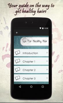 Tips For Healthy Hair screenshot 1