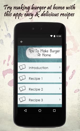 Tips To Make Burger At Home 1