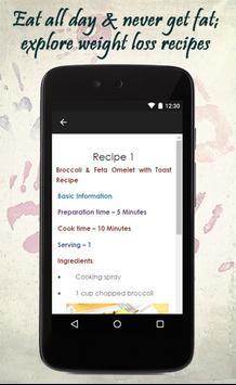 Weight Loss Recipes Guide apk screenshot