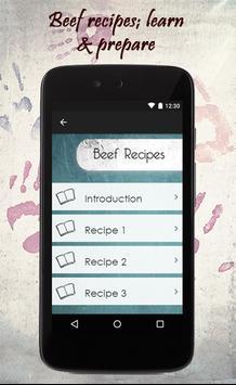 Beef Recipes Guide apk screenshot