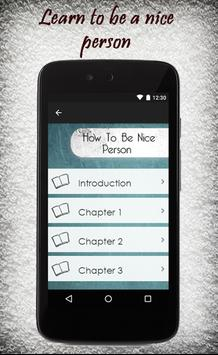 How To Be Nice Person apk screenshot