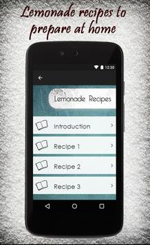 Lemonade Recipes Guide apk screenshot