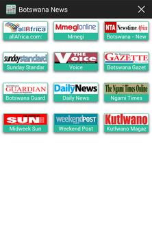 Botswana News - All Newspapers poster