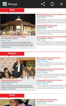 Botswana News - All Newspapers apk screenshot