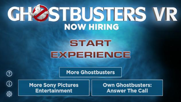 Ghostbusters VR - Now Hiring! poster