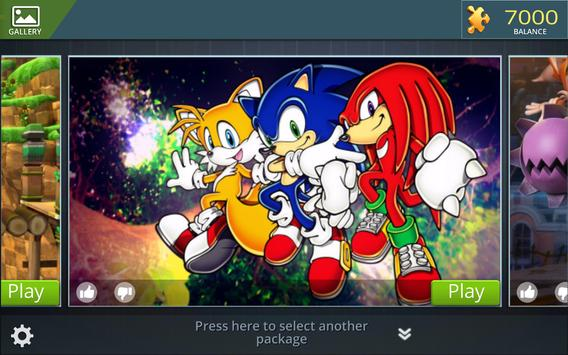 Sonic Jigsaw Puzzles poster