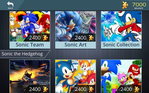 Sonic Jigsaw Puzzles screenshot 9