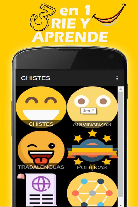 Chistes Adivinanzas Y Trabalenguas Gratis Für Android Apk