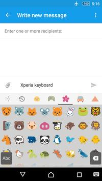 Xperia Keyboard screenshot 1