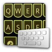 LaserYellow keyboard skin icon