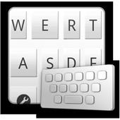 TotalWhite keyboard skin icon