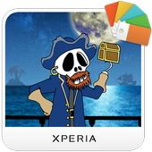 XPERIA™ Comic Pirate Theme icon