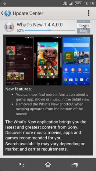 What's New APK Download - Free Tools APP for SONY Xperia