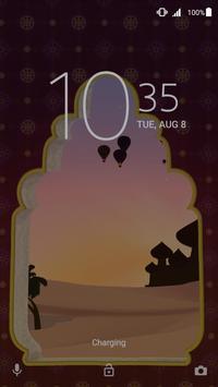 Xperia™ Mysterious Desert Theme poster
