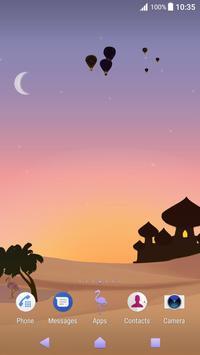 Xperia™ Mysterious Desert Theme screenshot 1