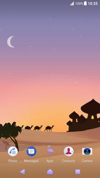 Xperia™ Mysterious Desert Theme screenshot 2