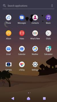 Xperia™ Mysterious Desert Theme screenshot 3