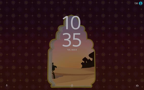 Xperia™ Mysterious Desert Theme screenshot 4