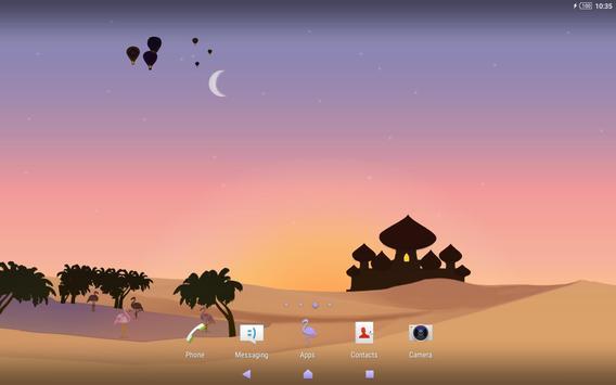 Xperia™ Mysterious Desert Theme screenshot 5