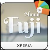 Xperia™ Mount Fuji Theme icon