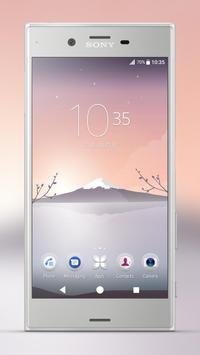 Xperia™ Mount Fuji Theme screenshot 1