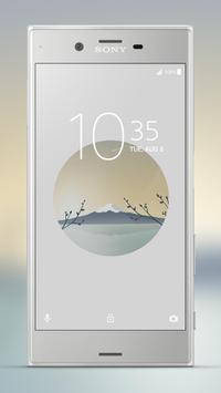 Xperia™ Mount Fuji Theme screenshot 2