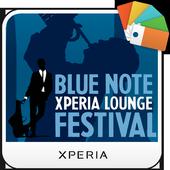 XPERIA™ Blue Note Theme icon