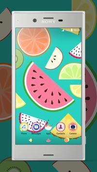 Xperia™ Fruit Salad Theme poster